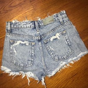 Carmar denim shorts from LF!